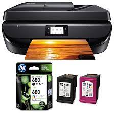 123 hp deskjet 5275 driver download for window. Hp Deskjet 5275 All In One Ink Advantage Wifi Printer With Fax Adf Duplex Printing Black Hp X4e78aa 680 Combo Pack Black Tri Color Ink Cartridges Amazon In Computers Accessories
