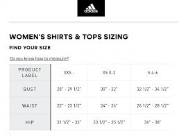 Complete Adidas Apparel Size Chart Adidas Apparel Size Chart Cm