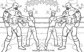 Wwf Andre Giant Coloring Pages