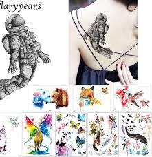 1 лист творческий водонепроницаемый татуировки клейкая бумага Km