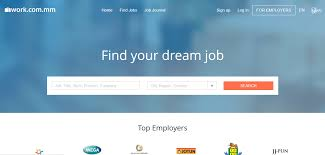 online job portal claims double digit growth myanmar business today work com mm websites page png