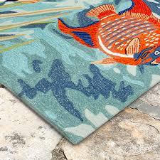 liora manne ravella tropical fish rectangle area rug