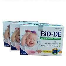 Siro ăn ngon cho bé BIO-DÉ hỗ trợ cho trẻ biếng ăn, siro giúp bé ăn ngon  tiêu hóa khỏe, giúp tăng cân cho bé (03 HỘP)