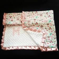 Dream Catcher Blankets In Stockgray dream catcher Minky blanket Gray Dream catchers 56