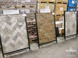 brick look alike tile awesome kitchen floor ideas options pl
