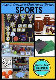 Sports Themed Classroom Ideas Printable Classroom