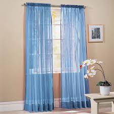 Sheer Curtains Bedroom Peach Curtains Sheer