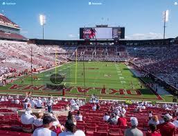 Gaylord Family Oklahoma Memorial Stadium Section 17 Seat