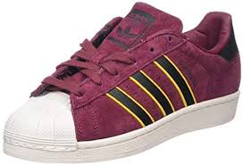 Adidas Superstar Sneaker For Men 42 2 3 Eu Red Buy Online