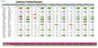 Excel Spreadsheet To Track Employee Training Employees Database Staff Template Employee Training Access