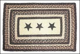 primitive braided rugs marvelous primitive rug black star rug rustic braided country rug