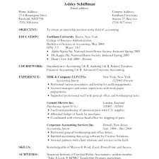Resume Objective Accounting Resume Objective Accounting Sample ...
