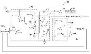 patent us8085521 flame rod drive signal generator and system patent drawing