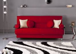 Living Room With Red Sofa Modern Grey Living Room Design Ideas With Red Sofa And White Red