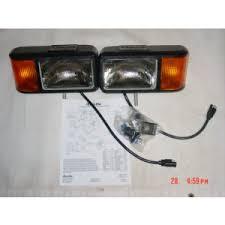 curtis sno pro 3000 plow light set truck tite healights curtis sno pro 3000 plow light set truck lite headlights 80889