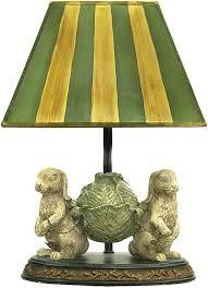 sterling 91 277 bunnies bearing dinner modern alman antique white green table light loading zoom