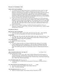 basic help desk specialist resume