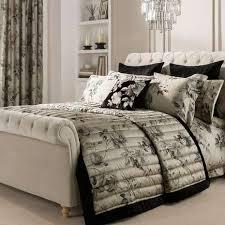 Dorma Harriet Charcoal Bedspread   Dunelm & Dorma Harriet Charcoal Bedspread Adamdwight.com