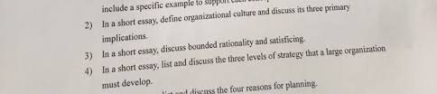 in a short essay define organizational culture an com in a short essay define organizational culture an