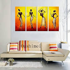 hand painted picture y india r paintings canvas oil indian wall decor