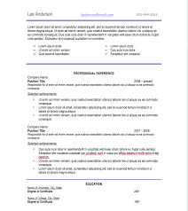 Best Font For Professional Resume Resume For Your Job Application