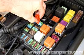 bmw z3 fuel filter replacement 1996 2002 pelican parts diy remove fuses 13 and 18 check that this fuse applies to you vehicle