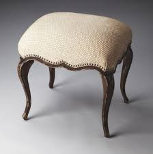astonishing shabby fabric upholstered vanity chair with black stained oak wood pict of bathroom trend and