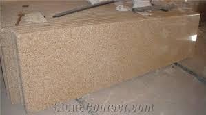 full bullnose granite countertop g682 yellow granite countertop