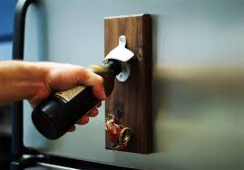 Magnetic Bottle Opener | Cool Man Cave Ideas To Try This Week | DIY Projects