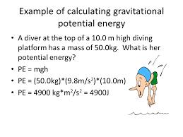gravitational potential energy formula gravitational potential energy what is the formula for calculating potential energy