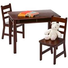 Lipper Childrens Rectangular Table and Chair Set Kids \u0026 Chairs | Hayneedle