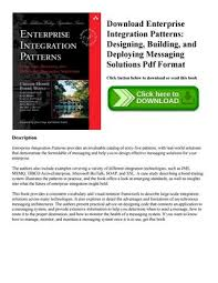 Enterprise Integration Patterns Pdf