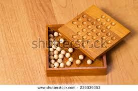 Wooden Peg Solitaire Game Peg Solitaire Stock Images RoyaltyFree Images Vectors 79