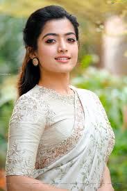 Rashmika Mandanna in Designer Saree ...