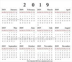 Online Calendar 2019 Online Calendar Calendar 2019