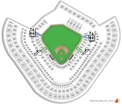 Los Angeles Angels Of Anaheim Angel Stadium Seating Chart