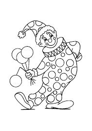 Carnaval Clown Carnaval Kleurplaten Kleurplaatcom