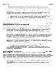 non profit resume