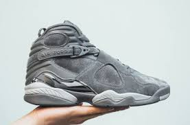 jordan 8 cool grey. flight club (8/21/2017) jordan 8 cool grey j