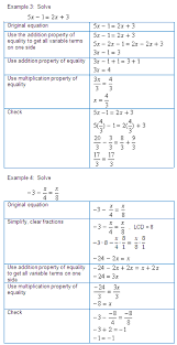 solving linear equations in two variables for a specified variable