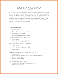 Leading Professional Hair Stylist Cover Letter Examples Hair