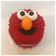 Cakes By Virgo Elmo Smash Cake Facebook