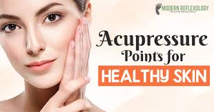Acupressure Face Chart Acupressure Points For Healthy Skin Facial Acupressure