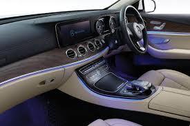 2017 mercedes benz e class lwb india interior ambient light