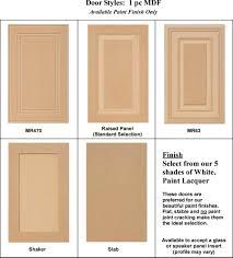 Cabinet Cabinet Door Styles Shaker Full Overlay Examplescabinet