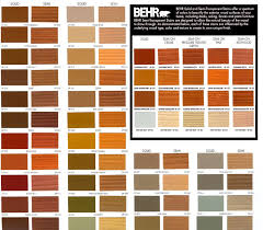 Home Depot Behr Wood Stain Color Chart Deck Wood Stain Colors Below Are Just A Few Of The Stain