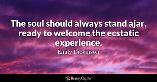 Soul Sister Quotes Interesting Emily Dickinson Quotes BrainyQuote