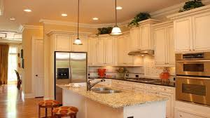 color themed country kitchen
