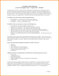 Grad School Resume Example High Graduate Work Experience 2063268v1