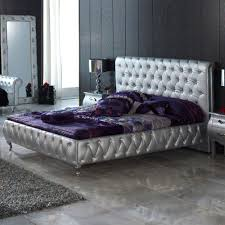 Elegant Purple And Silver Bedroom Hd9b13